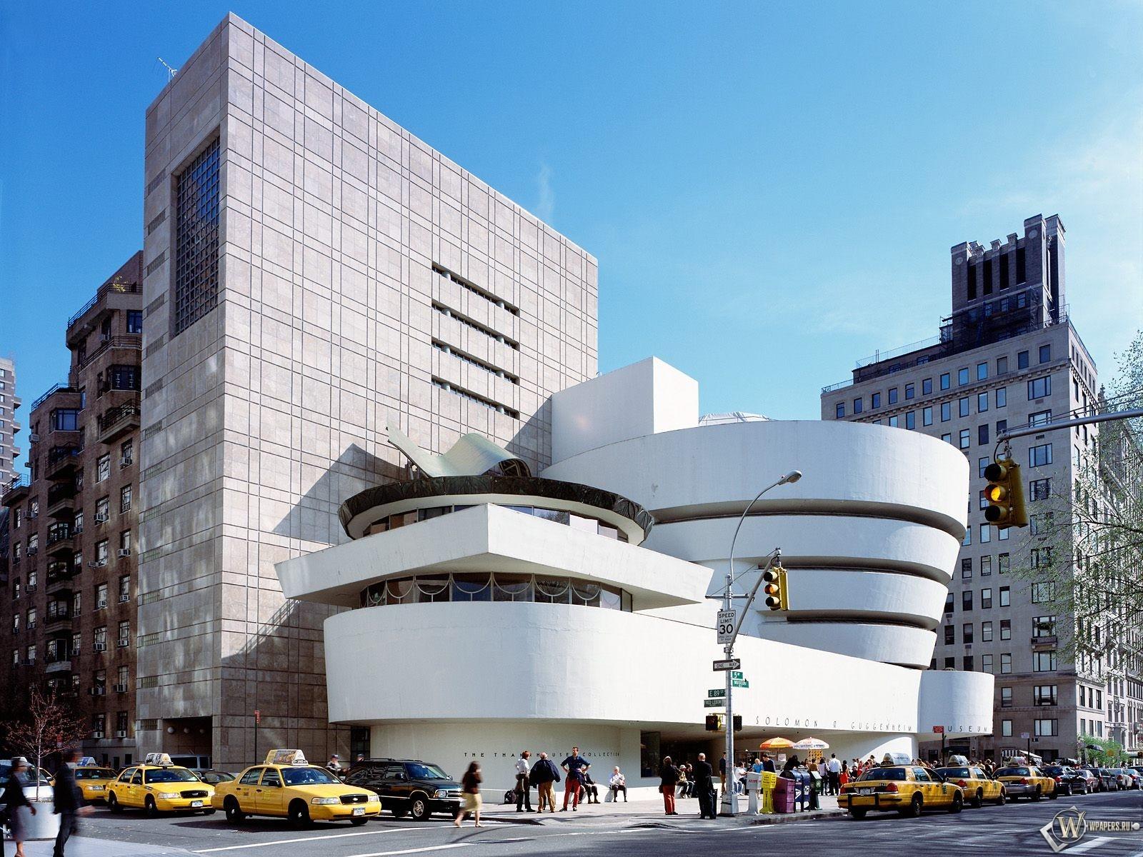 New York Solomon R Guggenheim Museum 1600x1200