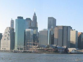 Обои New York Panoramique: , New York