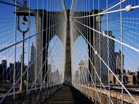 Обои Brooklyn Bridge - New York: , New York