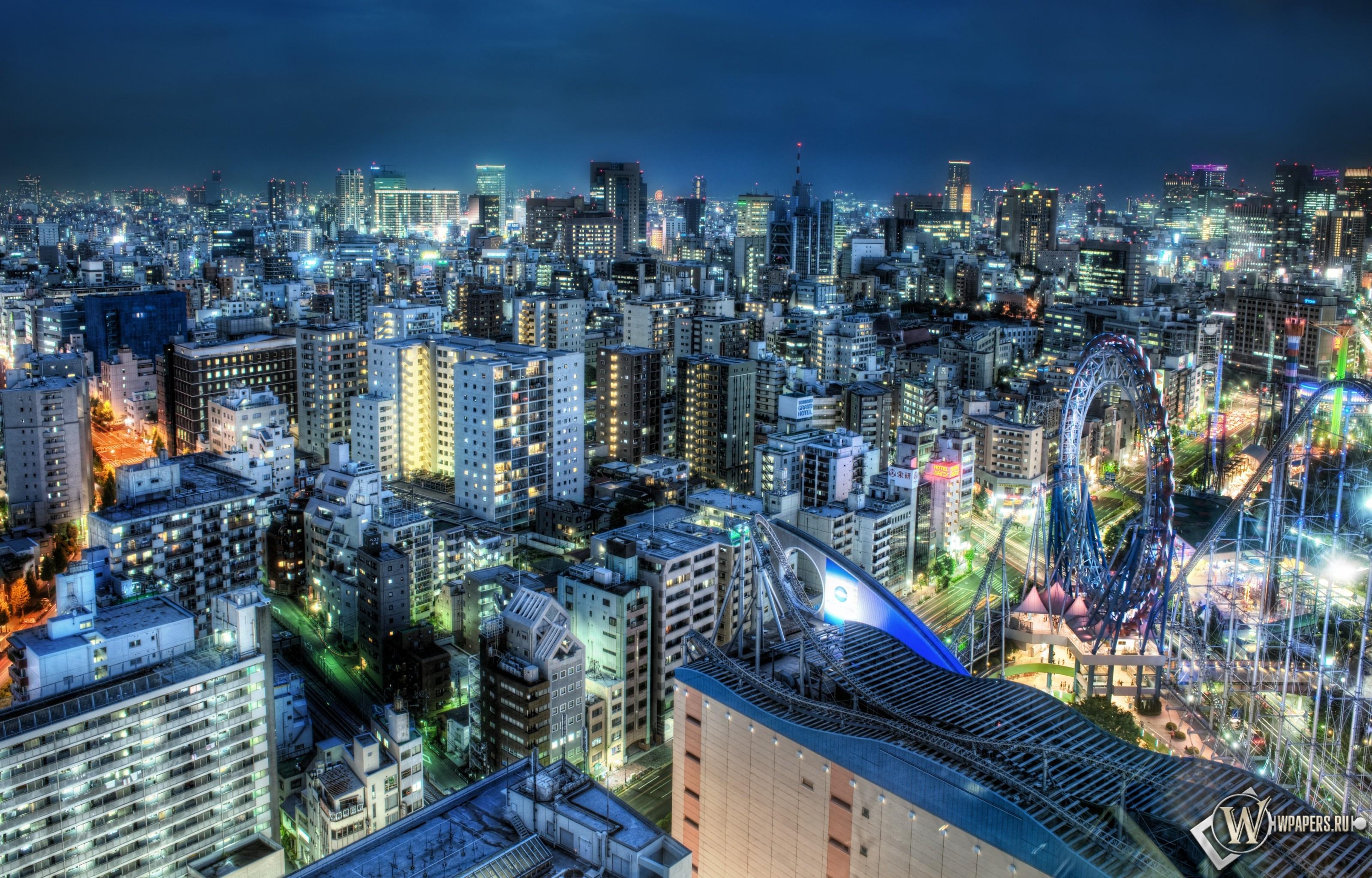 Tokyo at Dusk 3200x2048