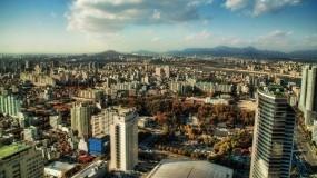 Обои Сеул: Облака, Город, Сеул, Корея, Прочие города