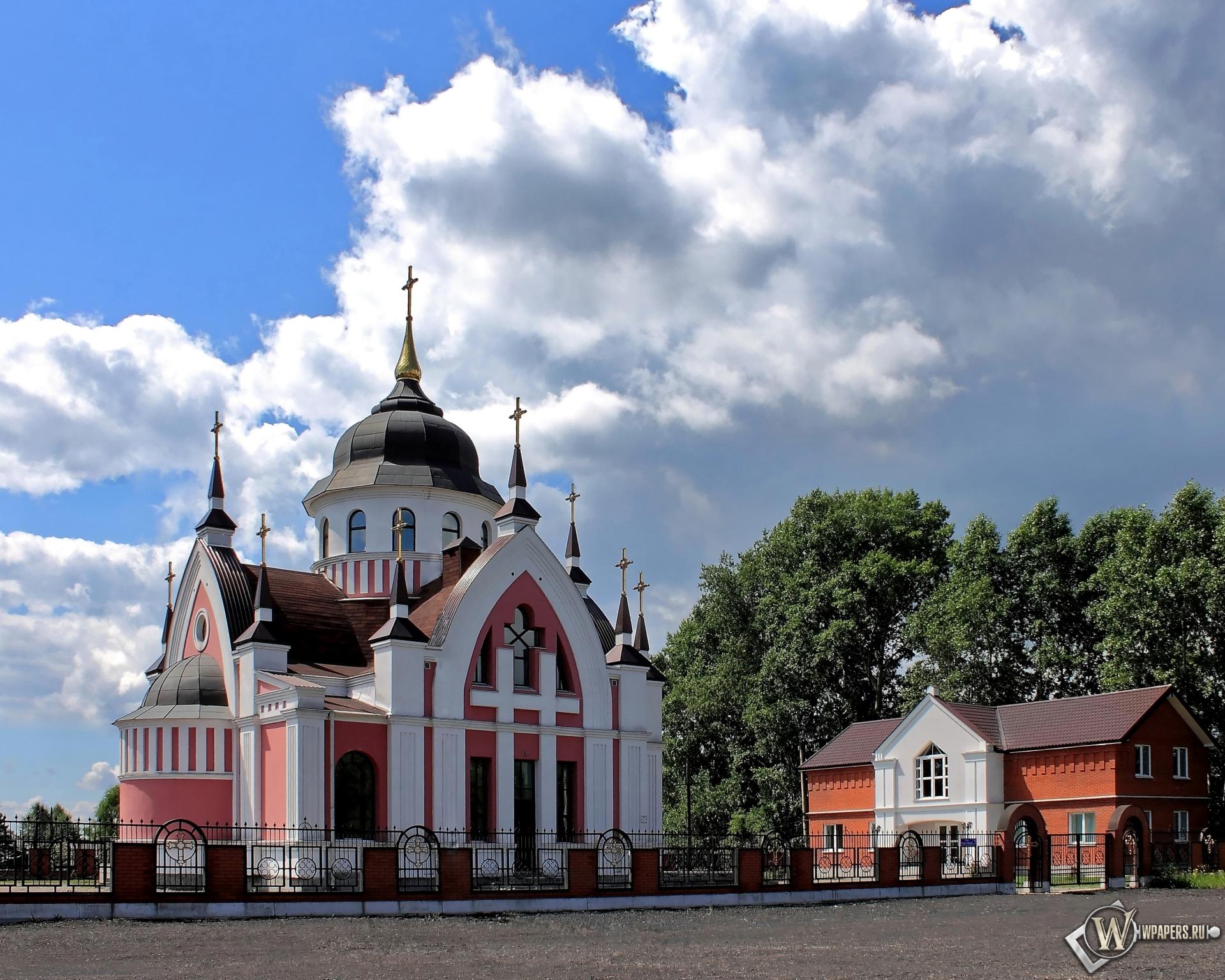 Новокузнецк Католический Храм св.Иоанна Златоуста  1920x1536