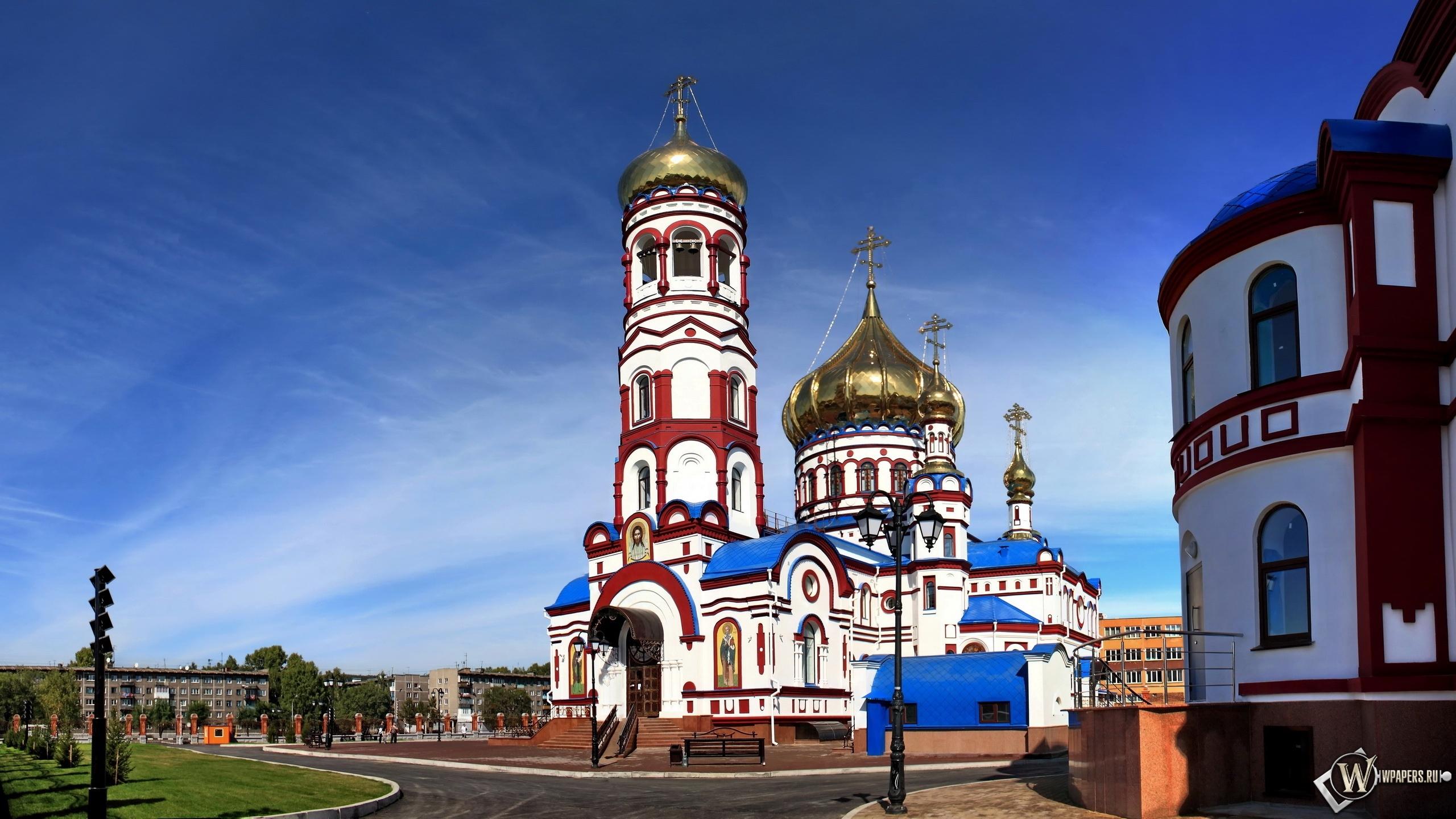 Новокузнецк Собор Рождества Христова  2560x1440
