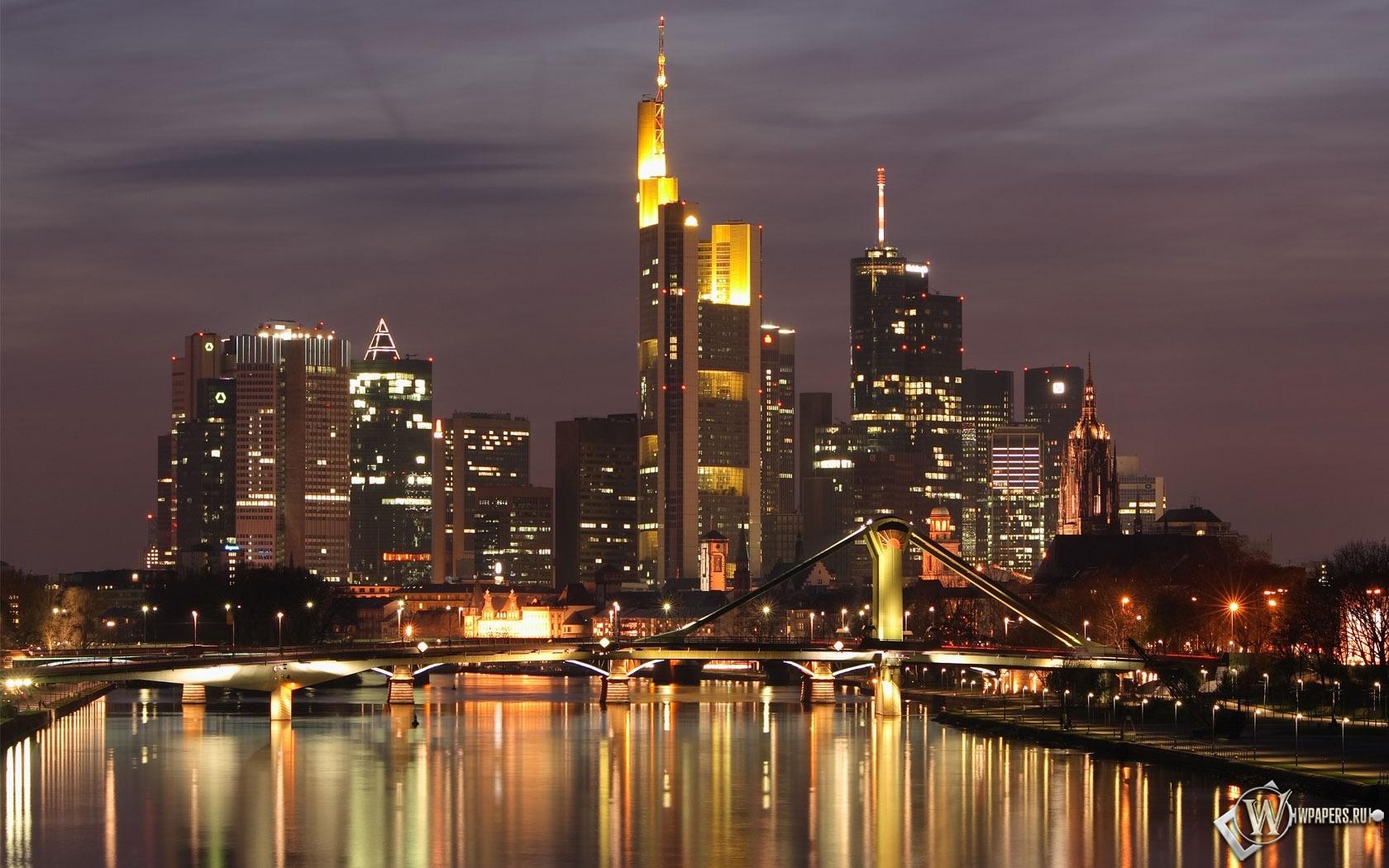 Frankfurt Skyline 1680x1050