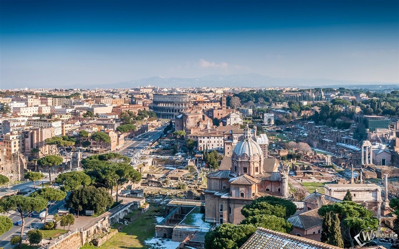 Рим Италия  1280x800