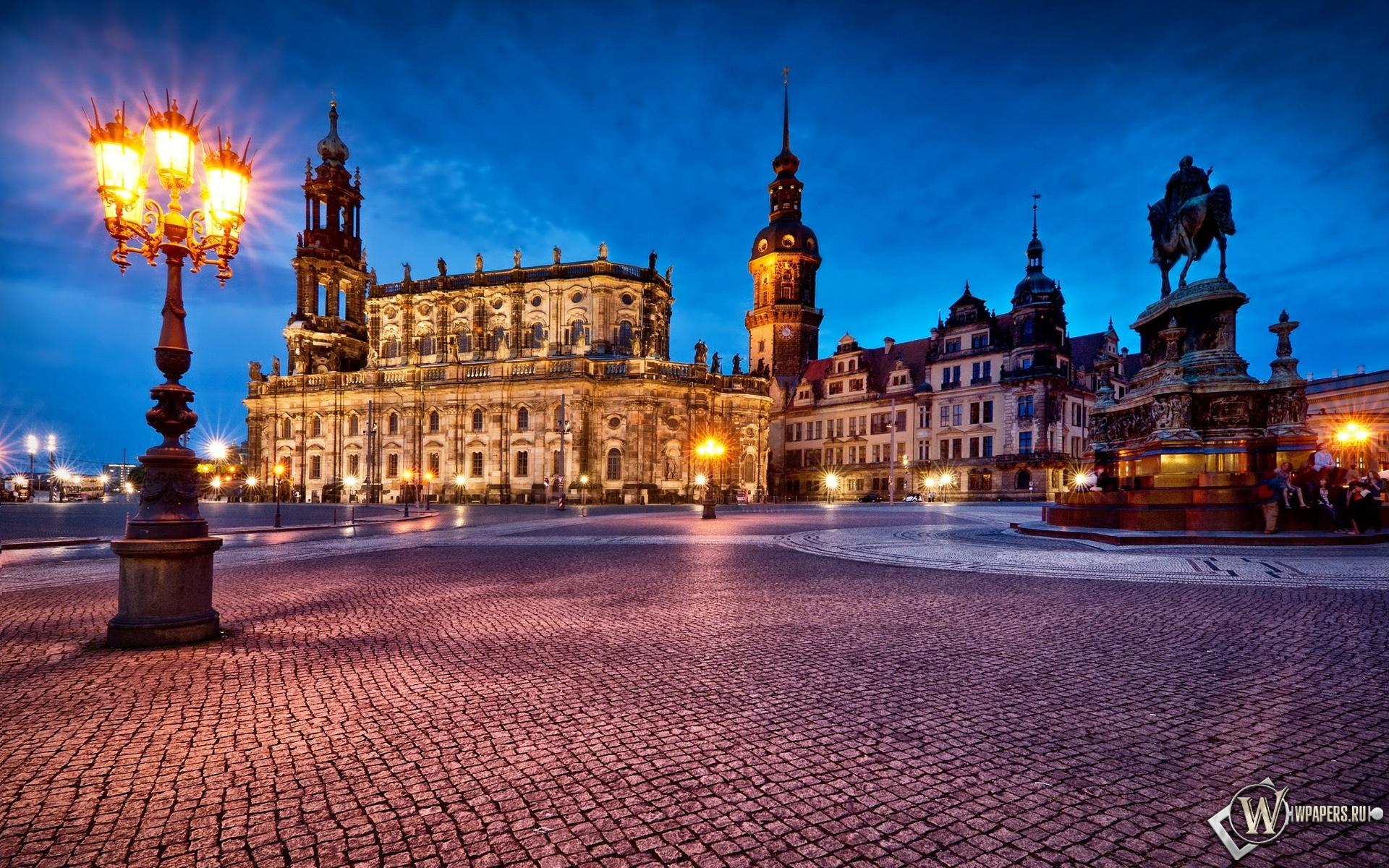 Дрезден Германия 1920x1200
