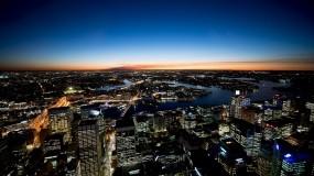 Обои Сидней: Город, Ночь, Небоскрёбы, Сидней, Прочие города