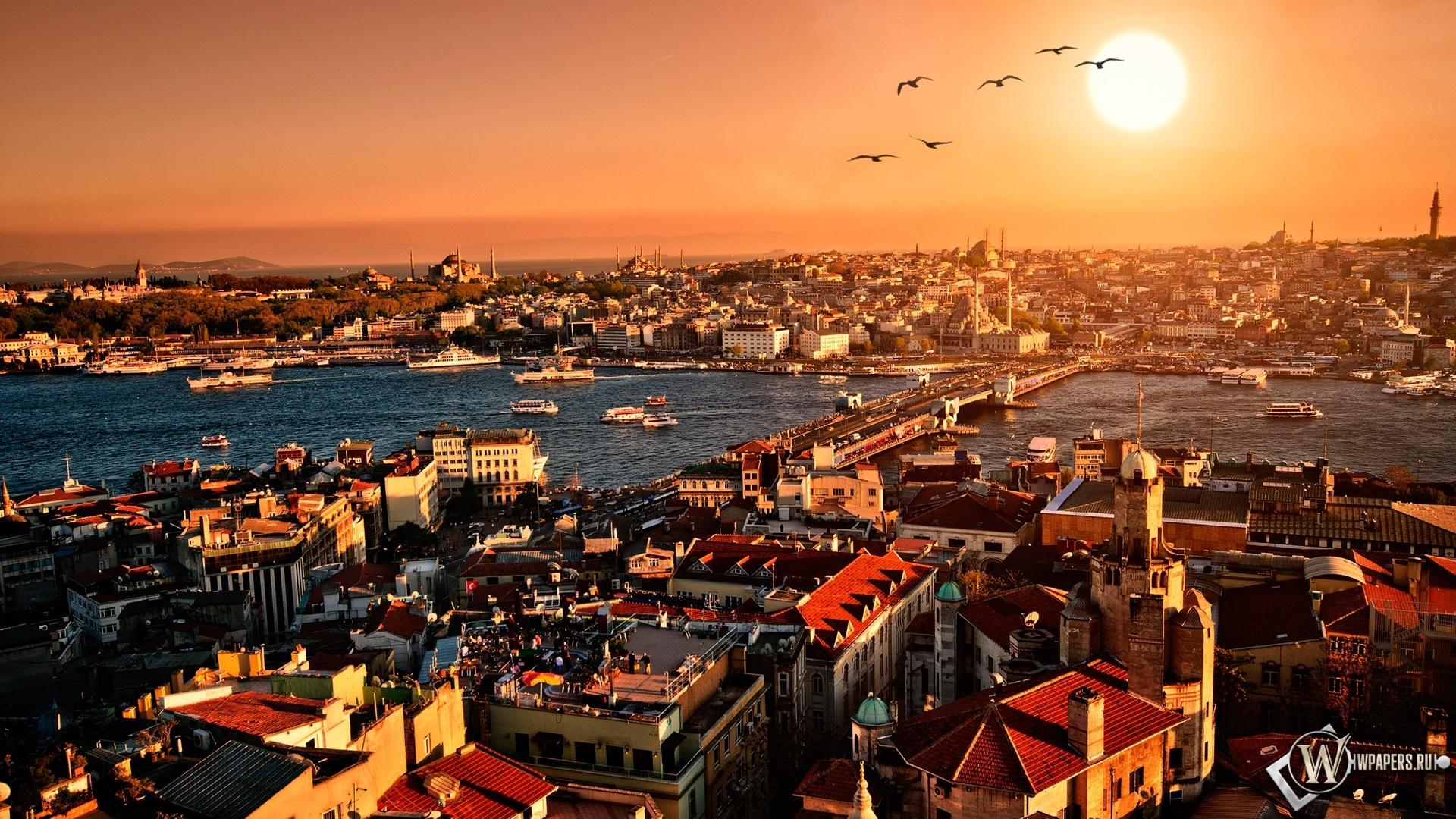 Солнечный Стамбул 1920x1080