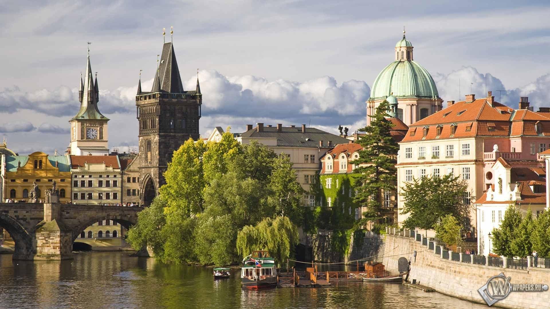 Исторический центр Праги 1920x1080