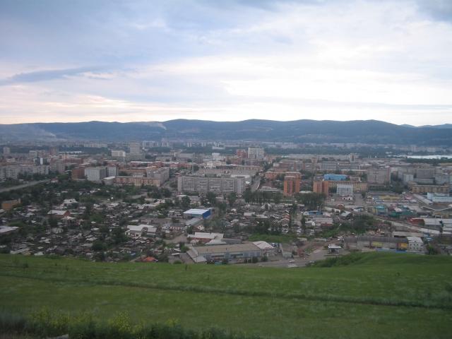 Смотровая площадка Красноярск