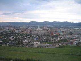 Обои Смотровая площадка Красноярск: Город, Лето, Здания, Прочие города