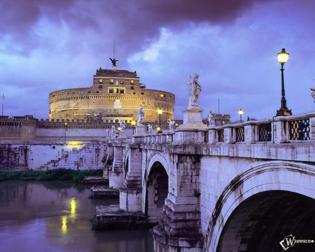 Италия (Рим) 1280x1024