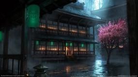 Обои Храм: Храм, Япония, Сакура, Буддизм, Прочие города