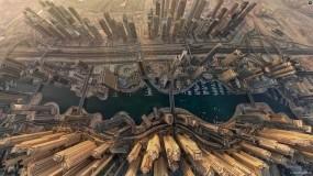 Обои Dubai  вид сверху: Дубай, Прочие города