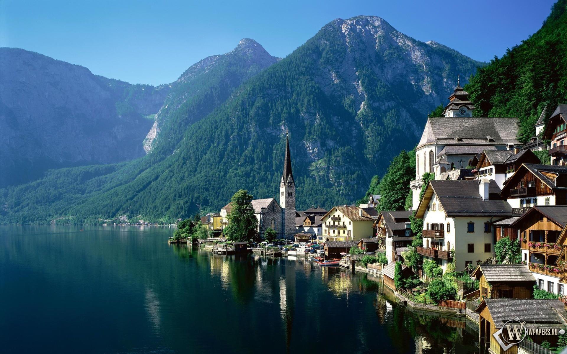 Гальштат, Австрия 1920x1200
