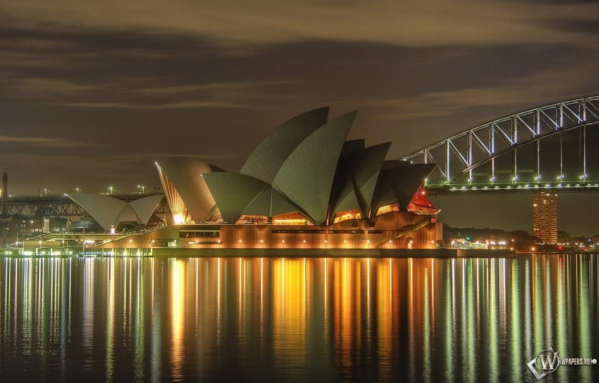 Театр в Сиднее 1200x768
