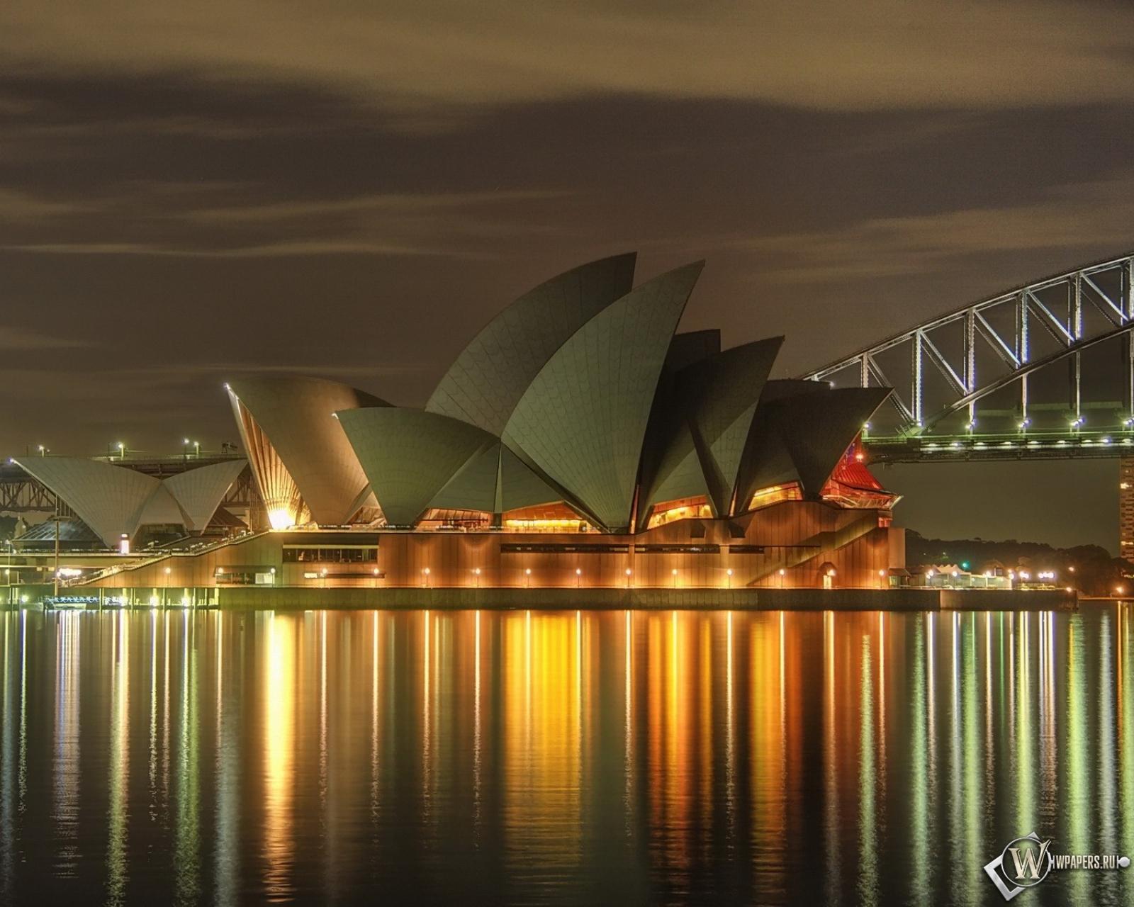 Театр в Сиднее 1600x1280