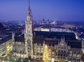 Обои Площадь в мюнхене: Площадь, Германия, Мюнхен, Прочие города
