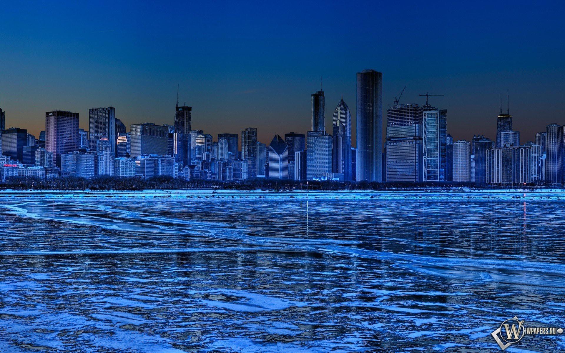Ледяной город 1920x1200