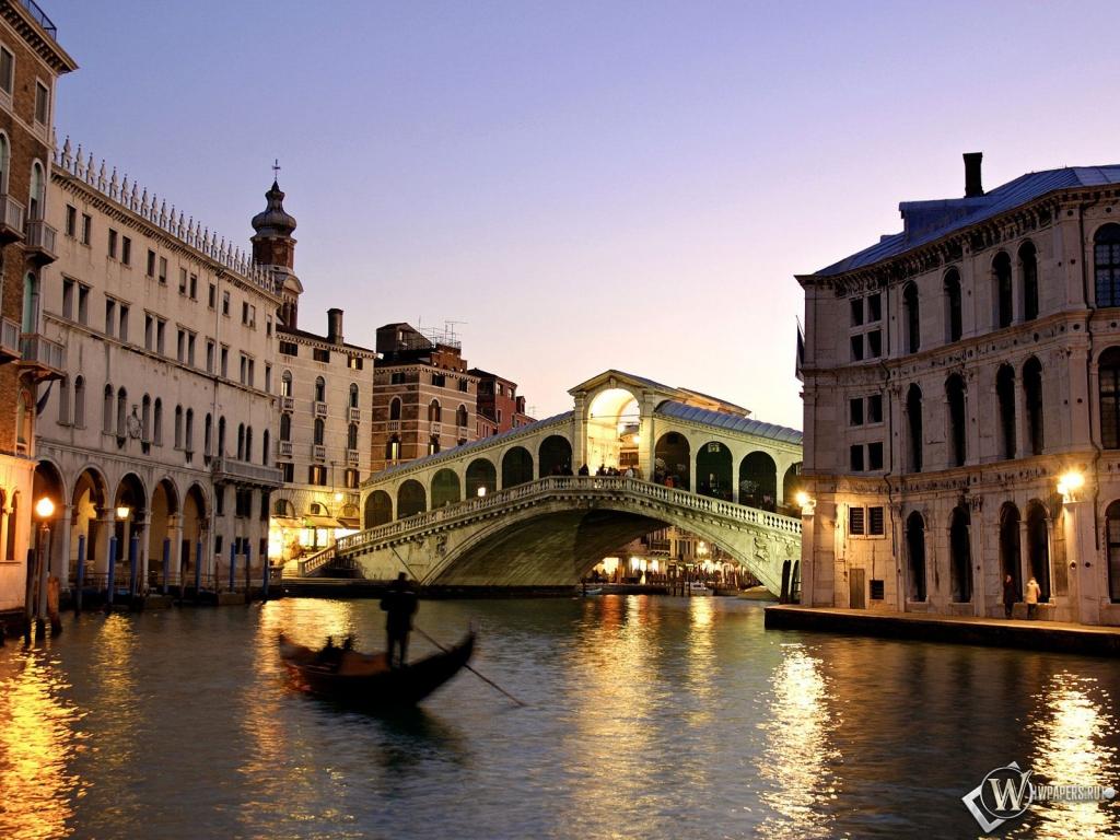 Вечерняя Венеция 1024x768