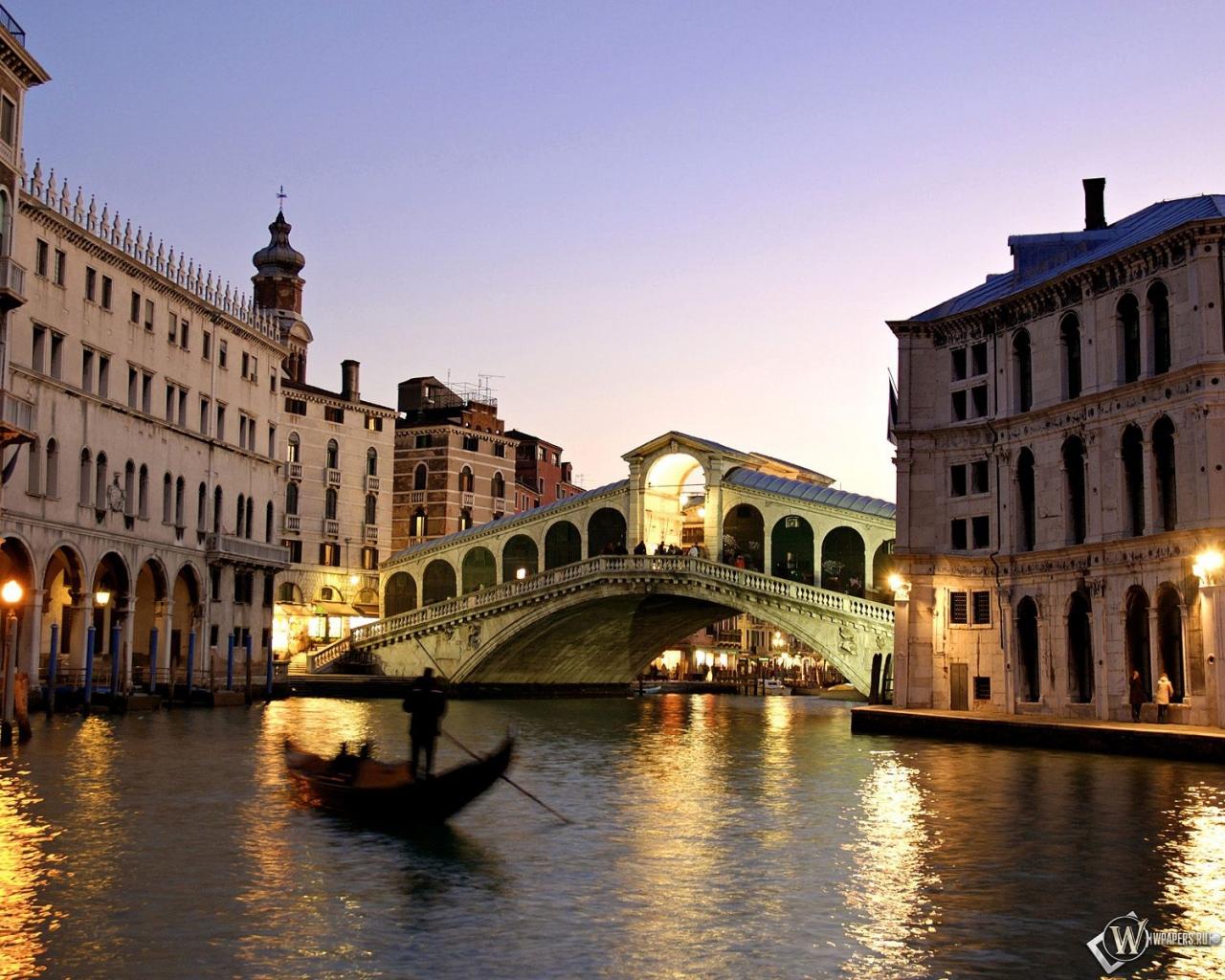 Вечерняя Венеция 1280x1024