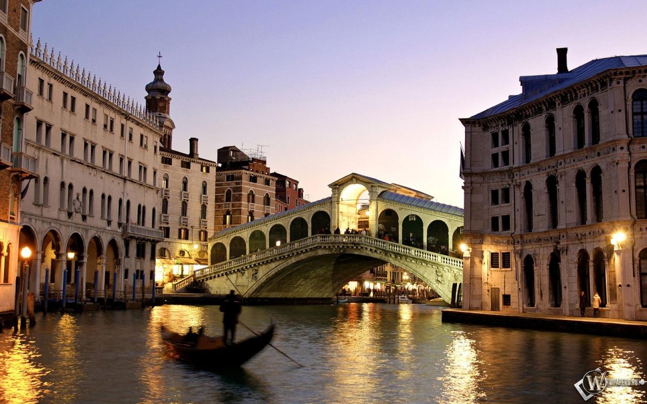 Вечерняя Венеция 1280x800
