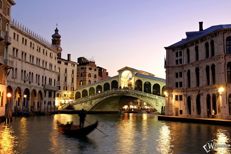 Вечерняя Венеция 1500x1000