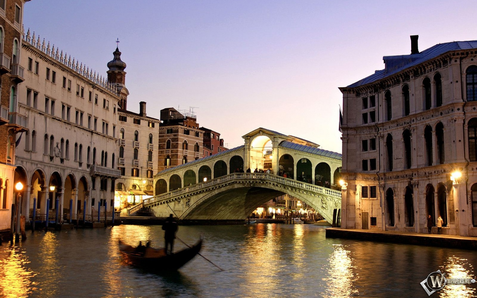 Вечерняя Венеция 1536x960