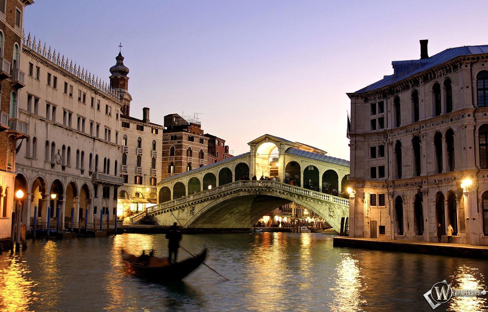 Вечерняя Венеция 1600x1024