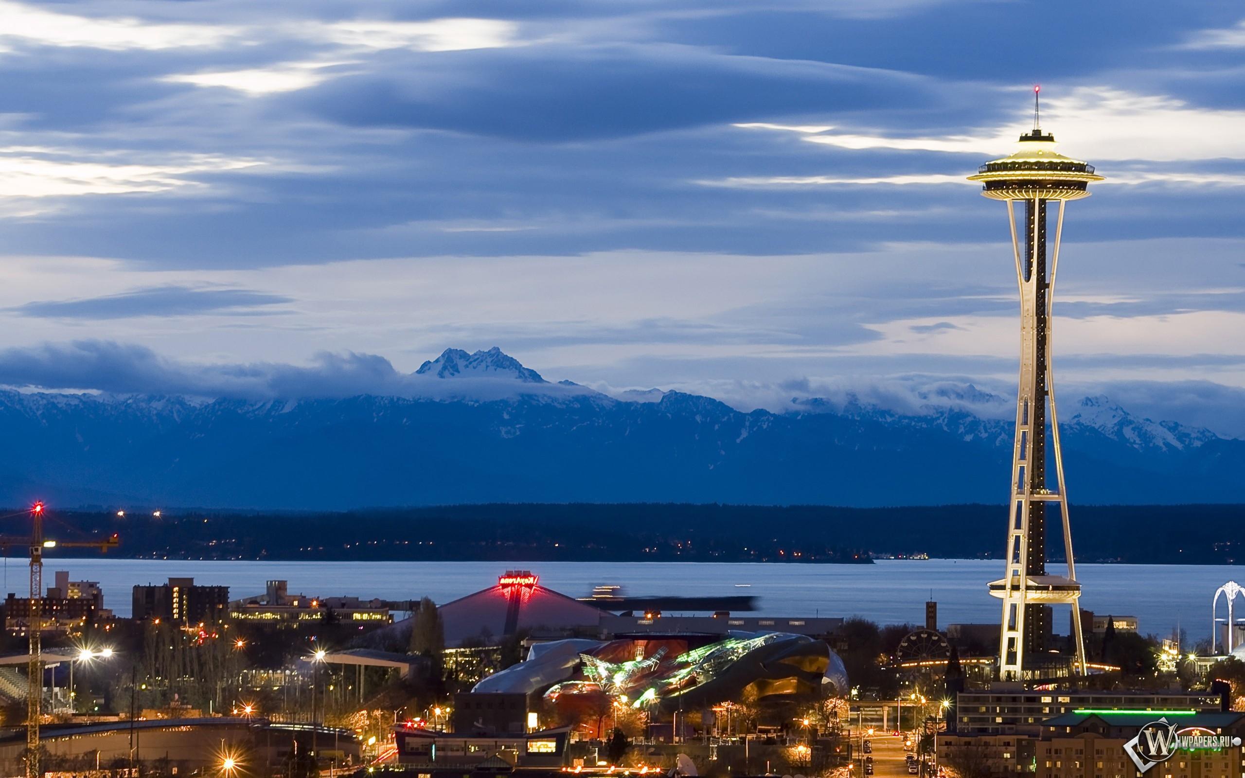 Башня в Сиэтле 2560x1600