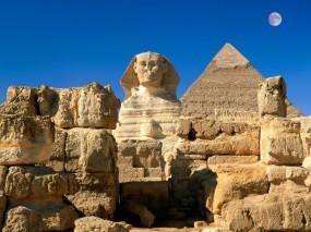 Обои Сфинкс: Египет, Сфинкс, Гиза, Прочие города