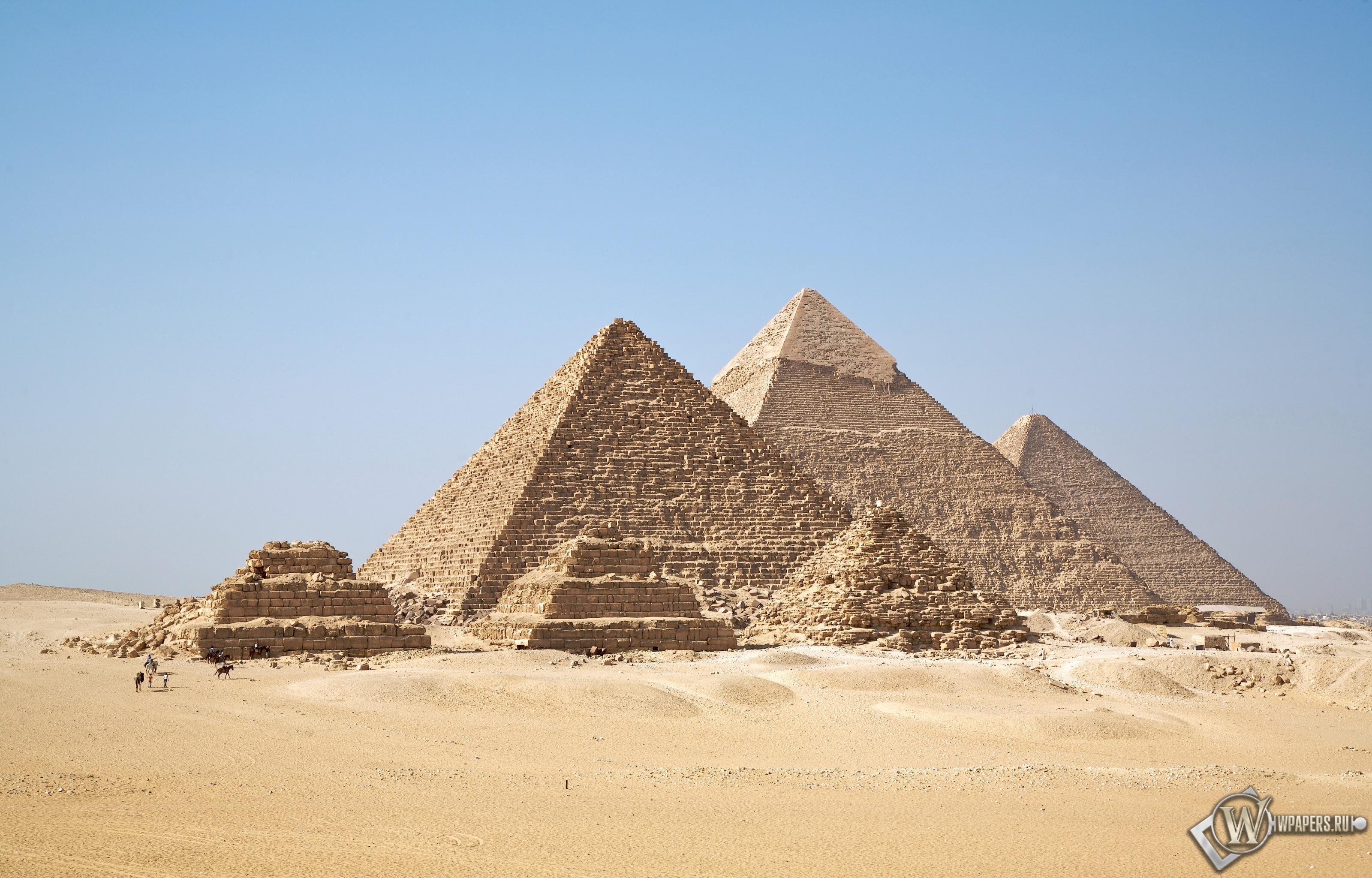 Пирамиды в Египте 3200x2048