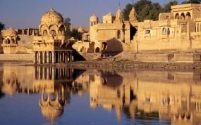 Обои Jaisalmer - Rajasthan - India : Песок, Город, Индия, Прочие города