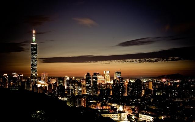 Ночной Тайбэй