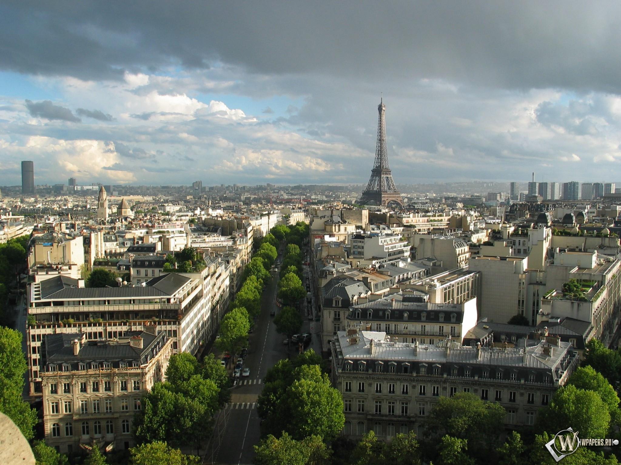 Париж 2048x1536