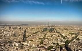 Обои Париж: Город, Панорама, Париж, Париж