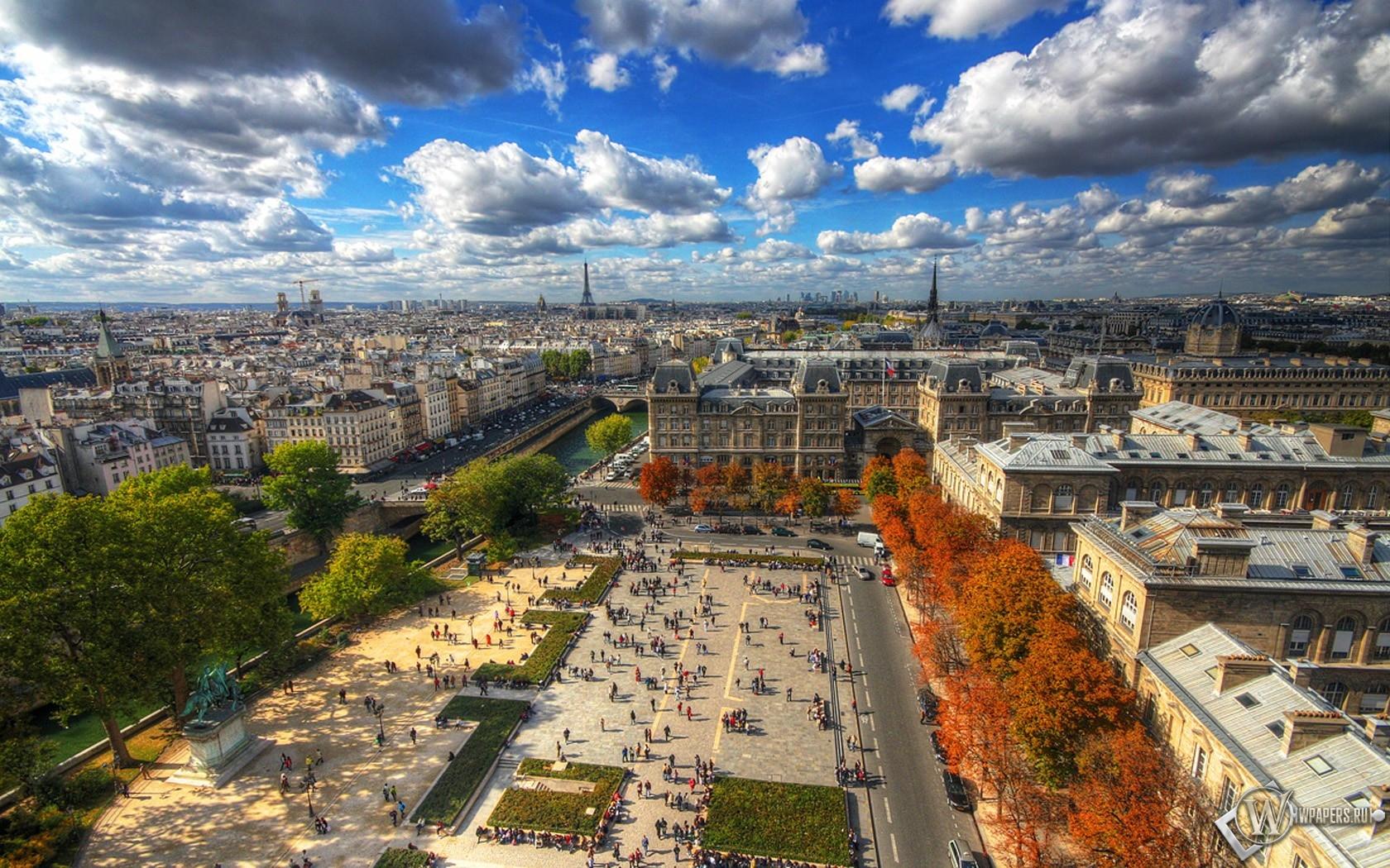 Париж 1680x1050