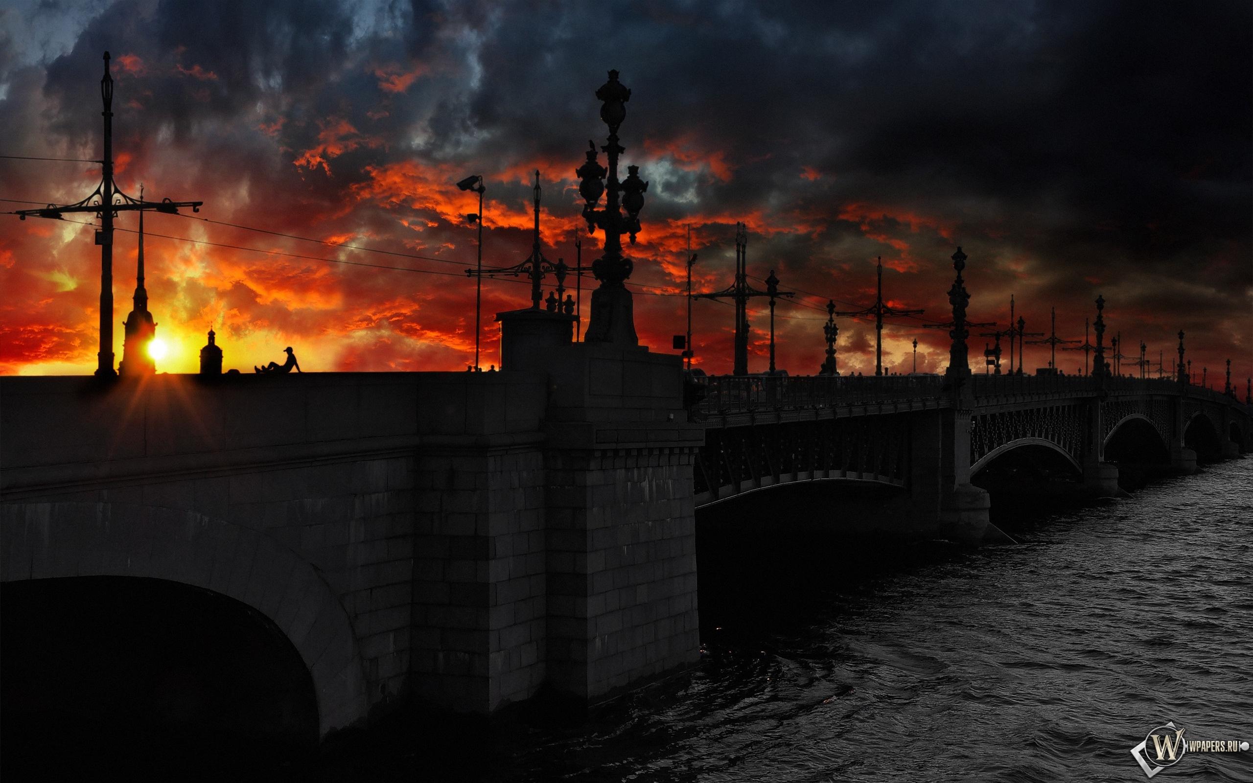 Мост в Санкт-Петербурге 2560x1600