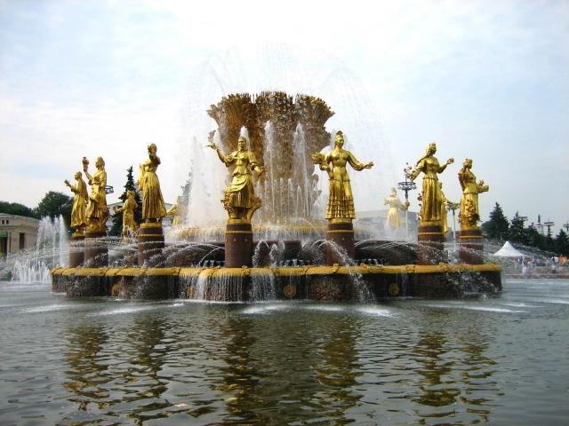 Фонтан в Санкт-Петербурге