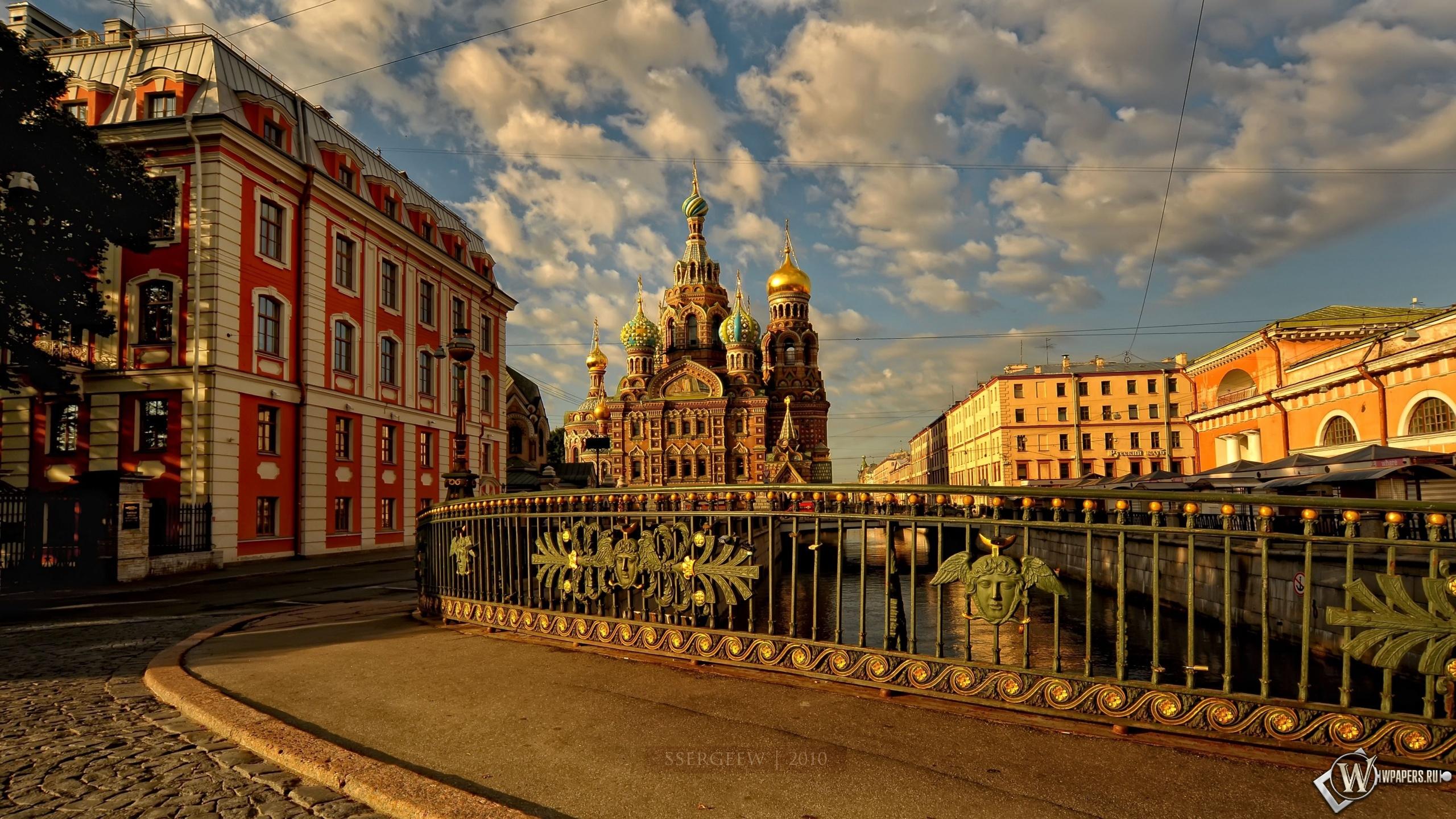 Спас на крови Санкт-Петербург 2560x1440