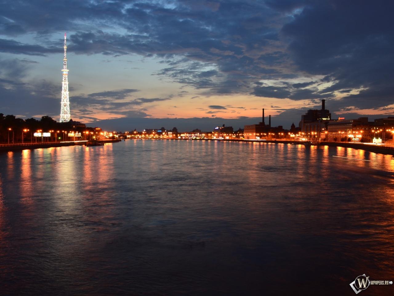 Мост через Неву 1280x960