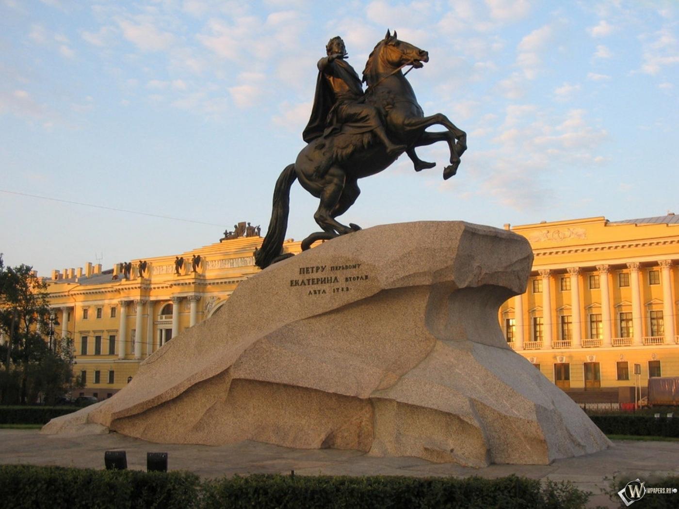 Памятник Петру Санкт-Петербург 1400x1050