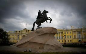 Обои Медный всадник в Питере: Санкт-Петербург, Питер, Памятник, Пётр, Медный всадник, Санкт-Петербург