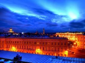 Обои Крыши питера: Санкт-Петербург, Питер, Крыши, Белые ночи, Санкт-Петербург