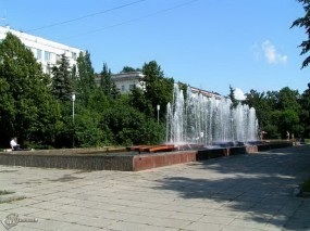 Обои Фонтаны на Самарской площади: , Самара