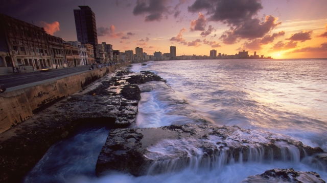 The Malecon Havana Cuba