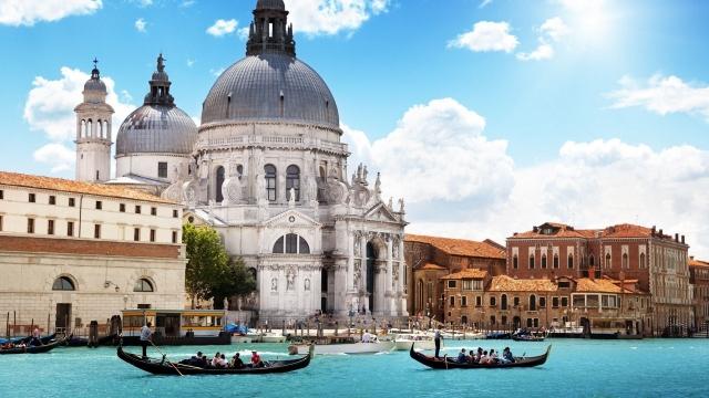 Собор Santa Mariya Della Salyute Венеция
