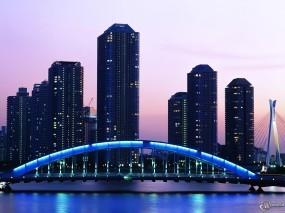 Обои Japan: Япония, Japan, Города и вода