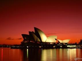 Обои Sydney Opera House: Сидней, Opera House, Sydney, Города и вода