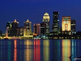 Обои Louisville Skyline: , Города и вода